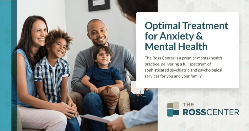 The Ross Center Anxiety Mental Health Treatment