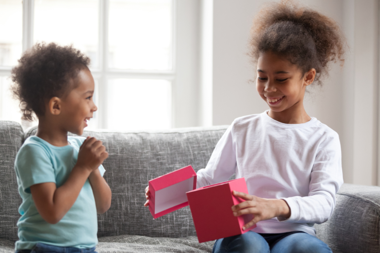 Children Giving